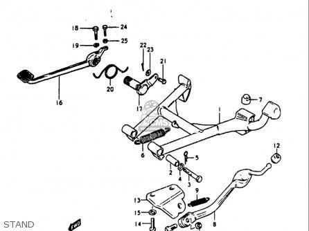 Suzuki Gs1100 Lt 1980 usa Stand