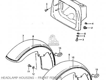 suzuki gs1100gk 1982 z general export e01 headlamp housing front fender_mediumsue0283fig 49_0396 2006 f250 dash parts diagram 2006 find image about wiring,2005 Ford Taurus Fuse Box Diagrams Fixya