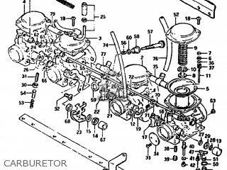Suzuki GS1100GL 1982 (Z) USA (E03) parts lists and schematics