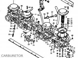 Suzuki Gs1100lt 1980 t Usa e03 Carburetor