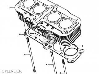 Suzuki Gs1100lt 1980 t Usa e03 Cylinder