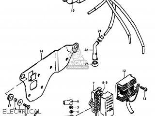 Suzuki Gs1100lt 1980 t Usa e03 Electrical