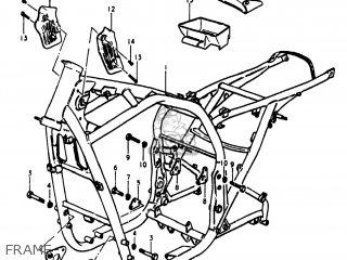 Suzuki Gs1100lt 1980 t Usa e03 Frame