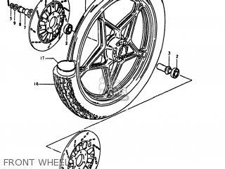 Suzuki Gs1100lt 1980 t Usa e03 Front Wheel