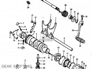 Suzuki Gs1100lt 1980 t Usa e03 Gear Shifting