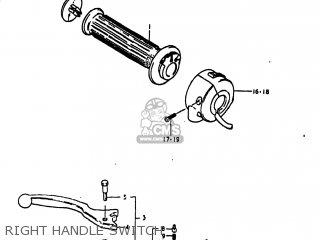 Suzuki Gs1100lt 1980 t Usa e03 Right Handle Switch