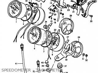 Suzuki Gs1100lt 1980 t Usa e03 Speedometer - Tachometer