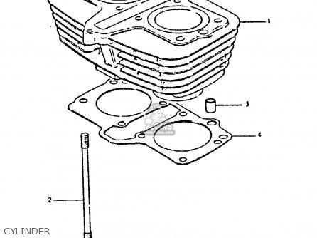 Suzuki Gs250 1981 tx Cylinder