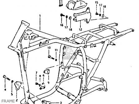 Suzuki Gs250 1981 tx Frame