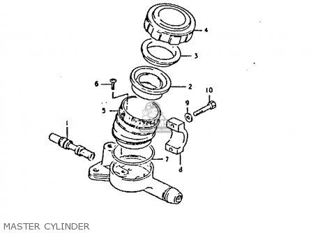 Suzuki Gs250 1981 tx Master Cylinder