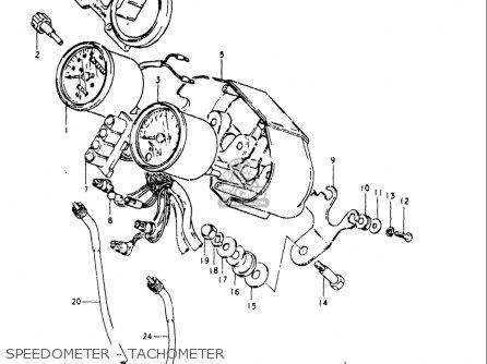 Suzuki Gs250 T 1980-1981 usa Speedometer - Tachometer
