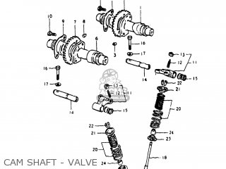 Suzuki Gs250t 1980 t Usa e03 Cam Shaft - Valve