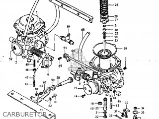 Suzuki Gs250t 1980 t Usa e03 Carburetor