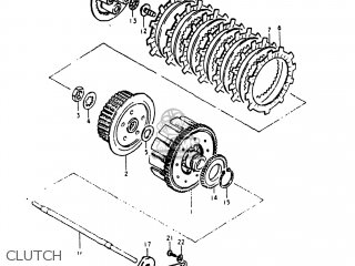 Suzuki Gs250t 1980 t Usa e03 Clutch