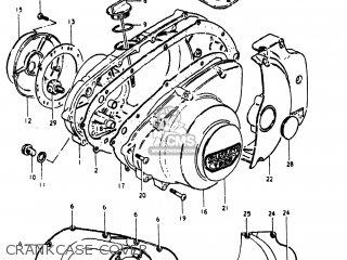 Suzuki Gs250t 1980 t Usa e03 Crankcase Cover