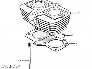 Suzuki Gs250t 1980 t Usa e03 Cylinder