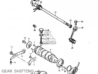 Suzuki Gs250t 1980 t Usa e03 Gear Shifting