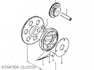 Suzuki Gs250t 1980 t Usa e03 Starter Clutch