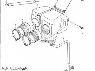 AIR CLEANER - GS500E 1990 (L) USA (E03)