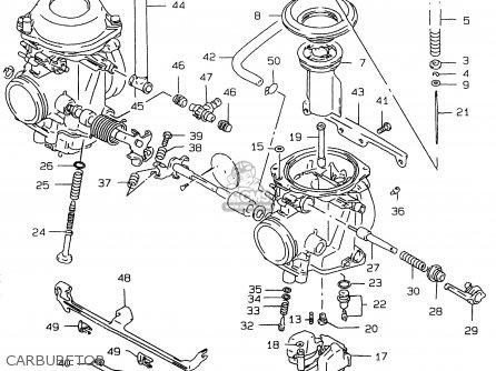 Suzuki Gs500e 1999 x e02 E04 E22 E24 E25 E34 E37 Carburetor