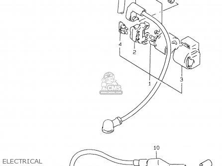 Suzuki Gs500e 1999 x e02 E04 E22 E24 E25 E34 E37 Electrical