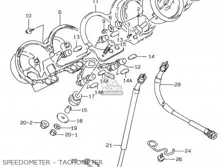 Suzuki Gs500e 1999 x e02 E04 E22 E24 E25 E34 E37 Speedometer - Tachometer