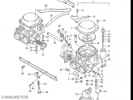 Suzuki Gs550 L 1985-1986 usa Carburetor