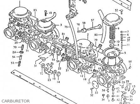 suzuki gs550l 1981  x   e01 e02 e04 e21 e22 e24 e25 e26