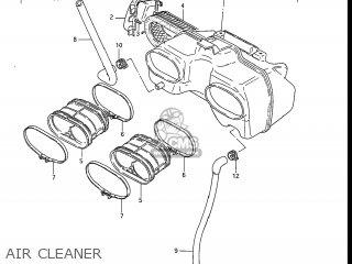 Suzuki Gs550l 1985 f Usa e03 Air Cleaner