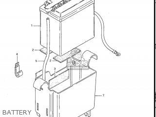 Suzuki Gs550l 1985 f Usa e03 Battery