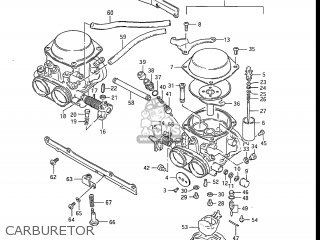 Suzuki Gs550l 1985 f Usa e03 Carburetor