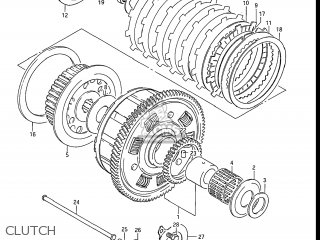 Suzuki Gs550l 1985 f Usa e03 Clutch