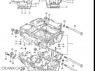 Suzuki Gs550l 1985 f Usa e03 Crankcase