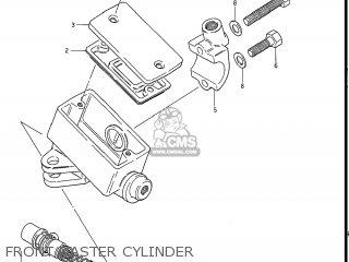 Suzuki Gs550l 1985 f Usa e03 Front Master Cylinder