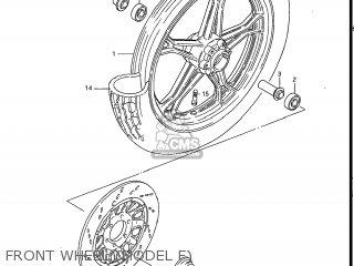 Suzuki Gs550l 1985 f Usa e03 Front Wheel model F