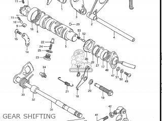 Suzuki Gs550l 1985 f Usa e03 Gear Shifting