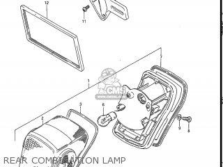 Suzuki Gs550l 1985 f Usa e03 Rear Combination Lamp