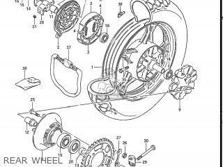 Suzuki Gs550l 1985 f Usa e03 Rear Wheel