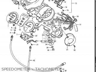 Suzuki Gs550l 1985 f Usa e03 Speedometer - Tachometer
