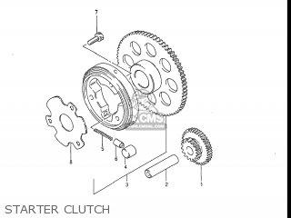 Suzuki Gs550l 1985 f Usa e03 Starter Clutch