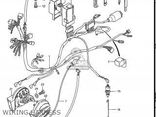 Suzuki Gs550l 1985 f Usa e03 Wiring Harness