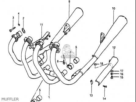 suzuki gs650gl 1983 usa muffler_mediumsuusa94470_4f7f onan 6500 generator wiring diagram onan find image about wiring,Onan Coil Wiring
