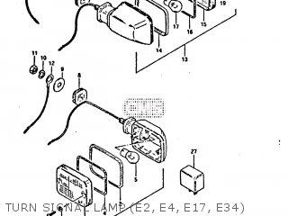 Suzuki Gs650gt 1981 X E01 E02 E04 E15 E16 E17 E18 E21 22 24 25 26