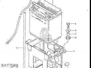 Suzuki Gs700e 1985 f Usa e03 Battery