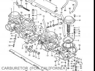 Suzuki Gs700e 1985 f Usa e03 Carburetor for California