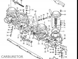 Suzuki Gs700e 1985 f Usa e03 Carburetor
