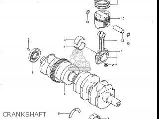 Suzuki Gs700e 1985 f Usa e03 Crankshaft