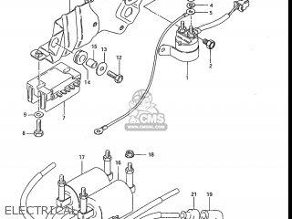 Suzuki Gs700e 1985 f Usa e03 Electrical