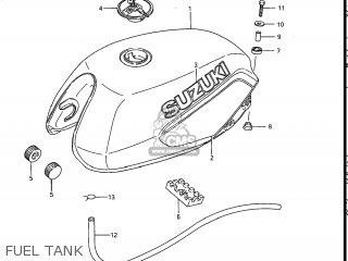 Suzuki Gs700e 1985 f Usa e03 Fuel Tank