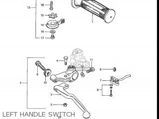 Suzuki Gs700e 1985 f Usa e03 Left Handle Switch
